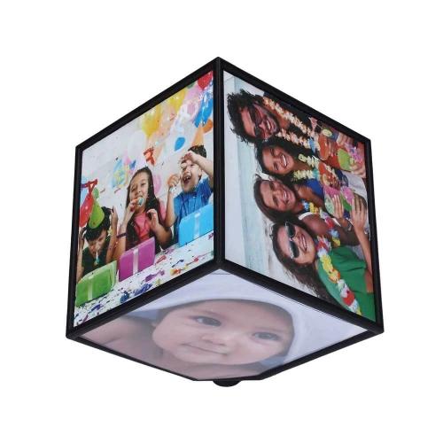 Rotating Photo Cube 6